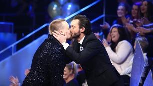 Stian fikk et kyss av Egor etter sin finale-cha cha cha