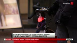 Frekke sykkellys skal få nordmenn til å klemme på egne baller