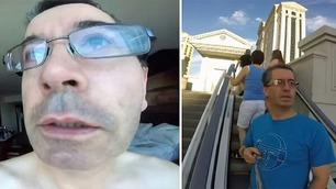 Evan knakk sammen da han sjekket pappas Go-Pro-kamera