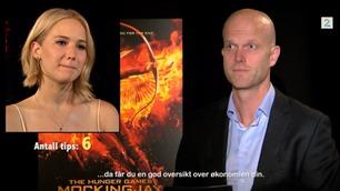 Her spør Luksusfellen-Hallgeir superstjernen Jennifer Lawrence om hennes privatøkonomi