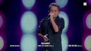 Benjamin Kittelsen beatboxer i Norske Talenter-semifinalen