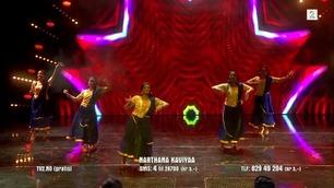 Narthana Kaviyaa danser i Norske Talenter-semifinalen