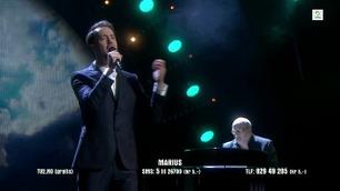Marius Grønsdal synger i Norske Talenter-semifinalen