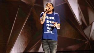 Michael «Xzwer» Kildal rapper i Norske Talenter-semifinalen