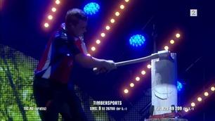 Timbersports sager i Norske Talenter-semifinalen