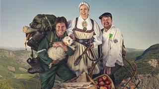 Fjellmat - med Rune, Margit & Moi