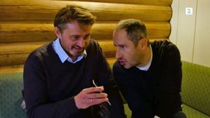 Senkveld Surprise: Thomas og Harald må samle så mange kjendisvenner de kan på én time