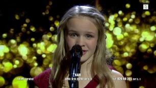 Kari Høgh Arnesen synger i Norske Talenter-finalen