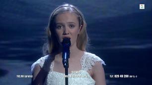 Sigrid Haanshus synger i Norske Talenter-finalen