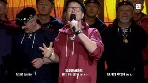 Slogmåkane synger i Norske Talenter-finalen