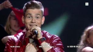 Patrick Jørgensen rapper i Norske Talenter-finalen