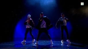 Quick overrasker med dans i Norske Talenter-finalen