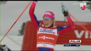 Enkel seier for Therese Johaug