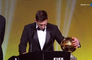 Messi fikk Gullballen for femte gang: – Mer enn jeg noensinne kunne drømt om