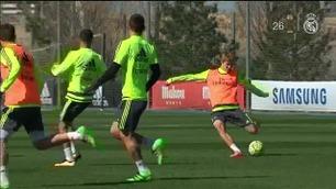 Sjekk Ødegaard-suseren på Real Madrid-trening
