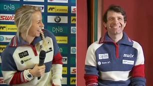 Eckhoffs aldersstikk til Bjørndalen fikk alle til å le
