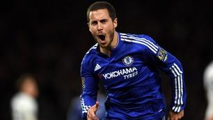 Hazard knuste Tottenhams titteldrøm med sen scoring