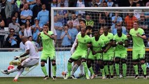 Manchester City sikret 4. plass og mesterliga-kvalik