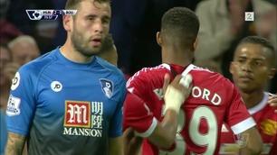 Sammendrag: Man. United - Bournemouth 3-1