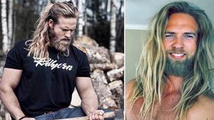 Norske Lasse har blitt verdensberømt fordi han ser ut som en viking