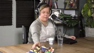 Hvor mange muffins klarer Else å trøkke i seg under intervjuet?