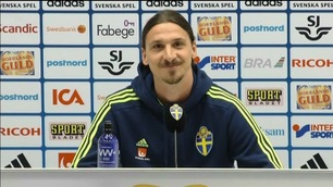 Zlatan møtte pressen: – If you want action, bring Mourinho
