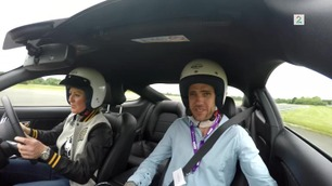 Her får Broom-Vegard være med på Top Gear-banen