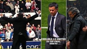 Mourinho mot Manchester United: Her er de fem største øyeblikkene