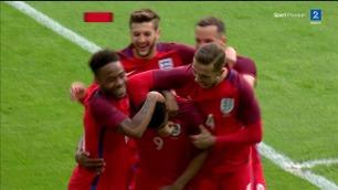 Rashford scoret to minutter og 20 sekunder ut i England-debuten
