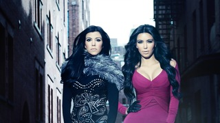 Kourtney og Kim i New York