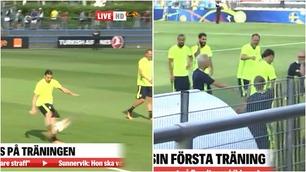 Zlatan fikk kjeft av lagleder – lagkamerat knakk sammen i latter
