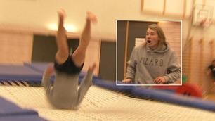 Christian (16) fryktet det verste etter denne fryktelige trampolineulykken