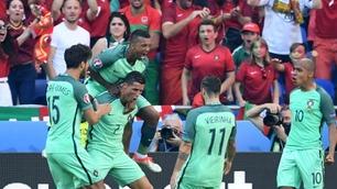 Geniale Cristiano Ronaldo reddet Portugal i en EM-thriller for historiebøkene