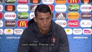FC EM: Portugal gikk videre - Ronaldo snakker endelig norsk (!) igjen