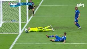 Det klikket for den islandske kommentatoren da Traustason scoret