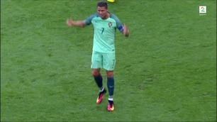 FC EM: Se Cristiano Ronaldo klikke som Donald Duck!