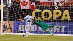 Se alt fra Copa America-dramaet: Her bommer Messi på straffe