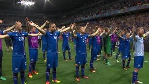 Frysninger! Se Islands magiske feiring med fansen