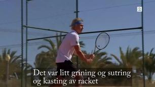 Casper Ruud (17) tok et oppgjør med sutringen