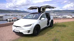 Eksklusiv test av Tesla Model X - på norske veier