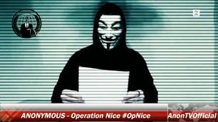 Anonymous sverger hevn etter Nice-terror