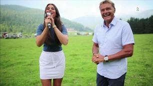 På felgen: TV 2-Ingrid sliter med prestasjonen
