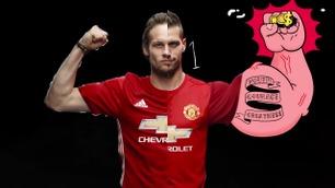Slik presenterte Manchester United sine nye hjemmedrakter