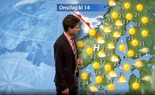 Svensken glemte noe før værmeldingen – smekken var åpen