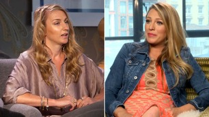 TV 2s reporter fullstendig satt ut av frekk og gravid Blake Lively