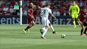 Zlatan Ibrahimovic med scoring i debuten
