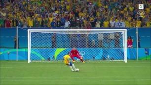 Her er hele straffesparkkonkurransen mellom Tyskland og Brasil