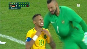 Tårene trillet da Neymar sikret OL-gull med straffescoring
