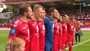 Sammendrag: Brann - Rosenborg 1-1