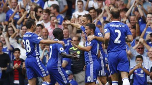 Hazard og Chelsea lekte med Burnley